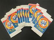 12 UNOPENED PACKS OF 1994 FLEER/SUNOCO/ATLANTIC BASEBALL CARDS.  5 CARDS PER PAC
